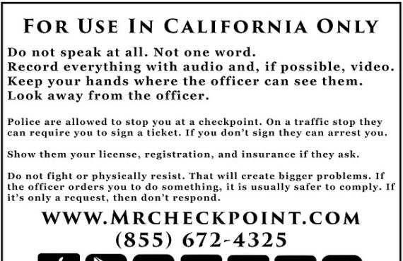 WHAT ARE YOUR RIGHTS IN CALIFORNIA WITH POLICE!?